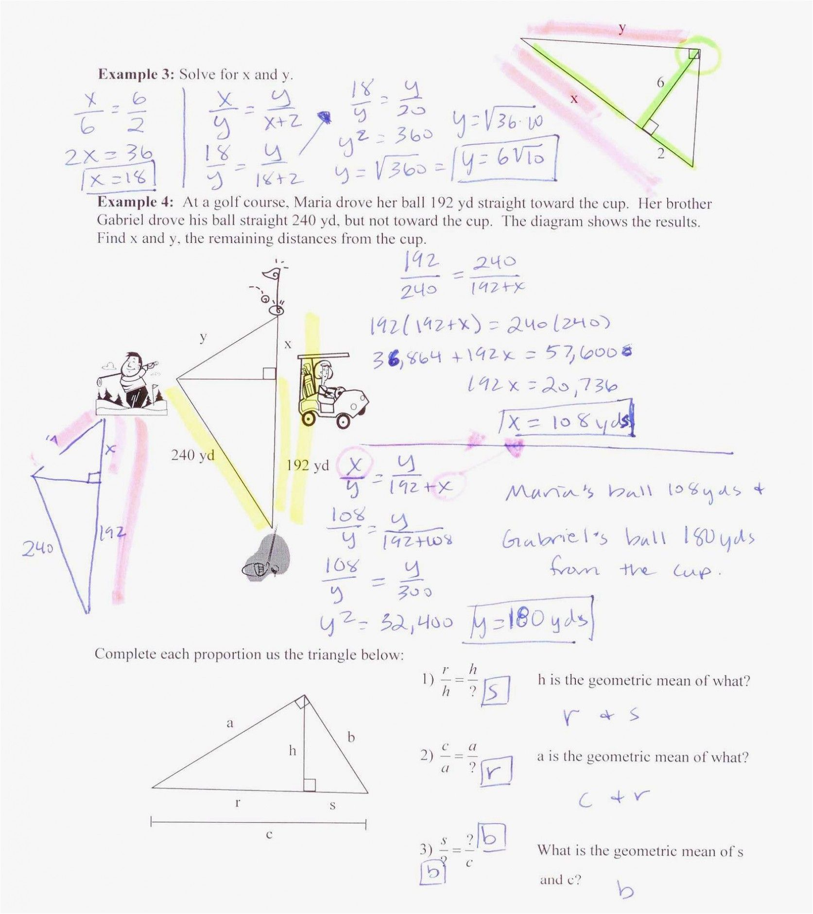 Geometry Distance And Midpoint Worksheet Answers