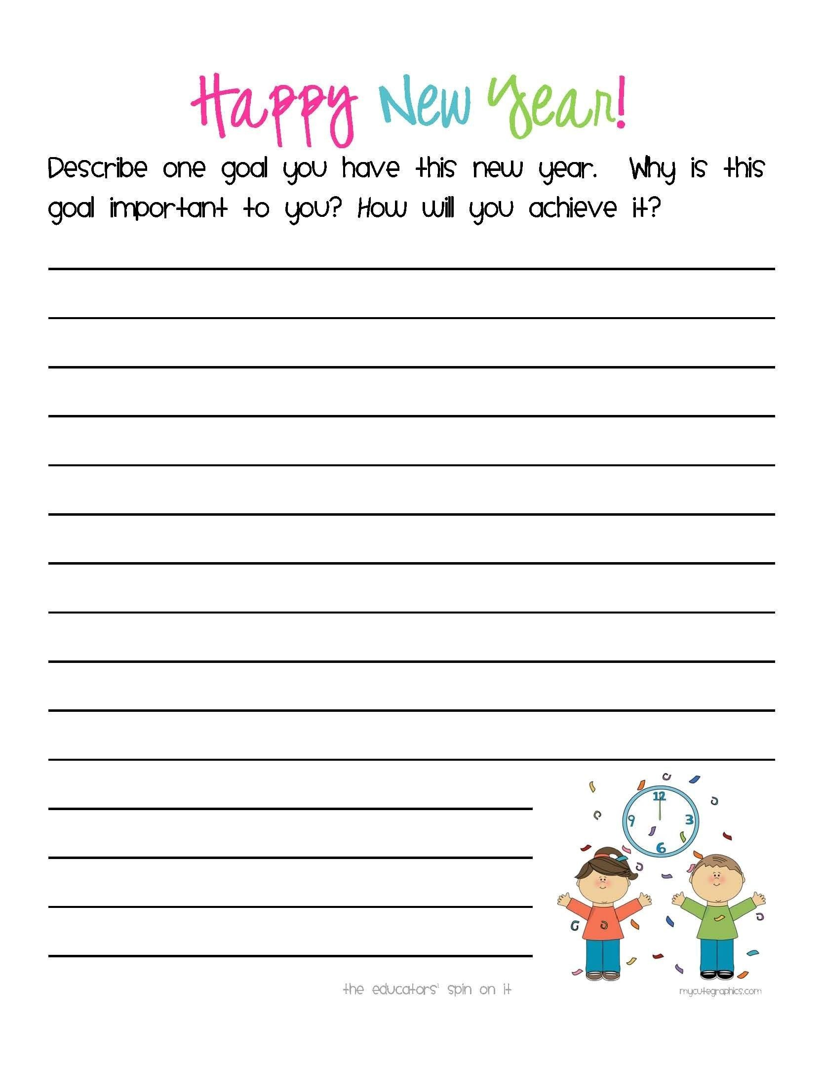 Goal Setting Worksheet