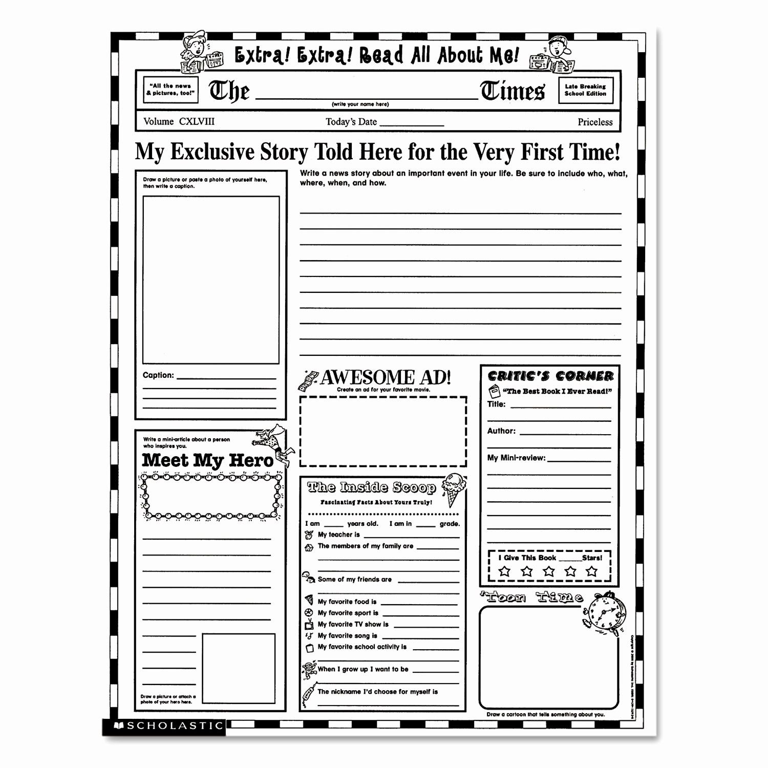 Reading Questions Worksheet For Middle School