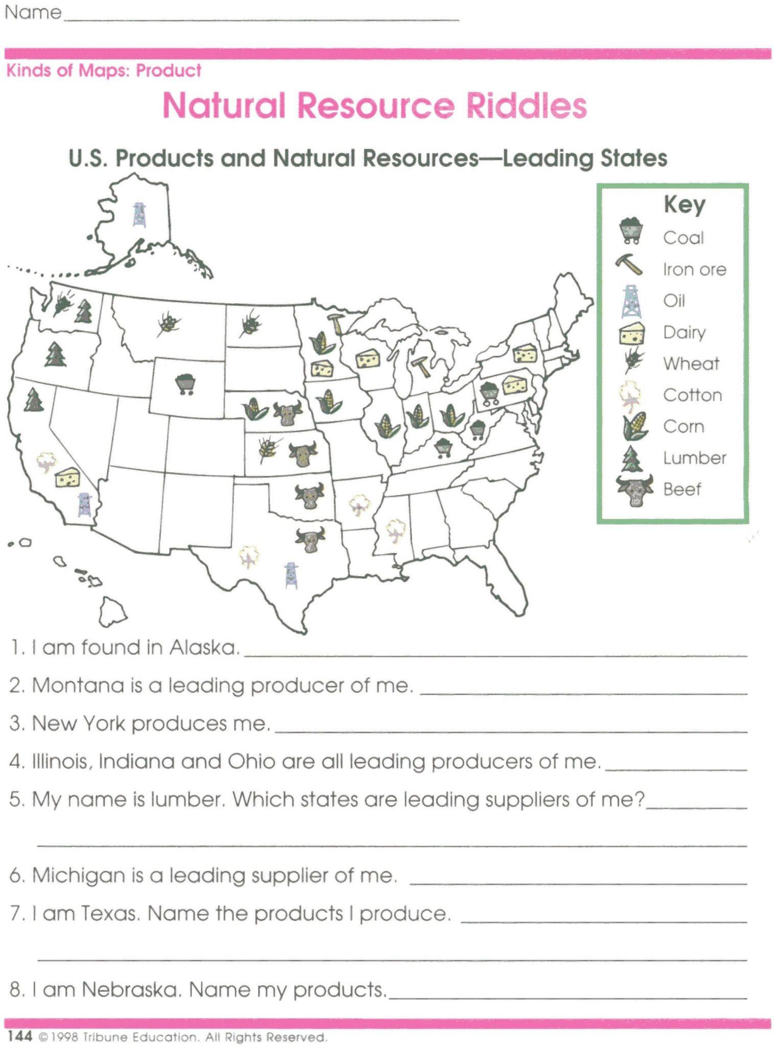 Latitude And Longitude Worksheet Answers