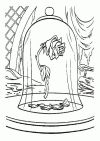 Free Beauty and the Beast Coloring Pages Inspiration My Plate Coloring Page