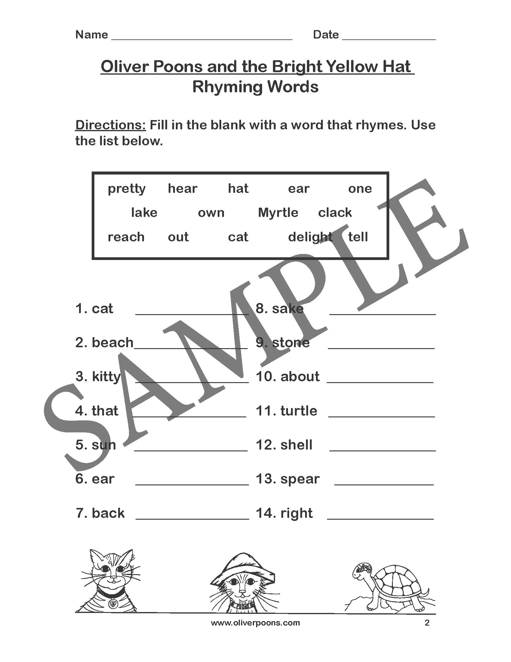 Phonics Worksheets Grade 1