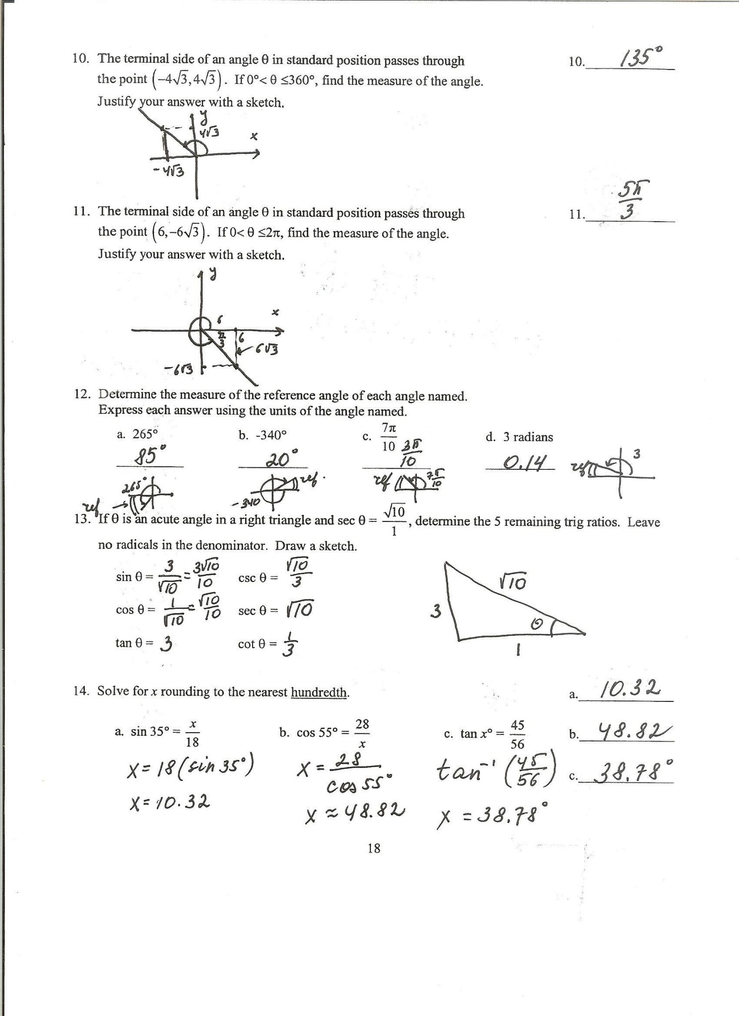 Piecewise Functions Worksheet 2