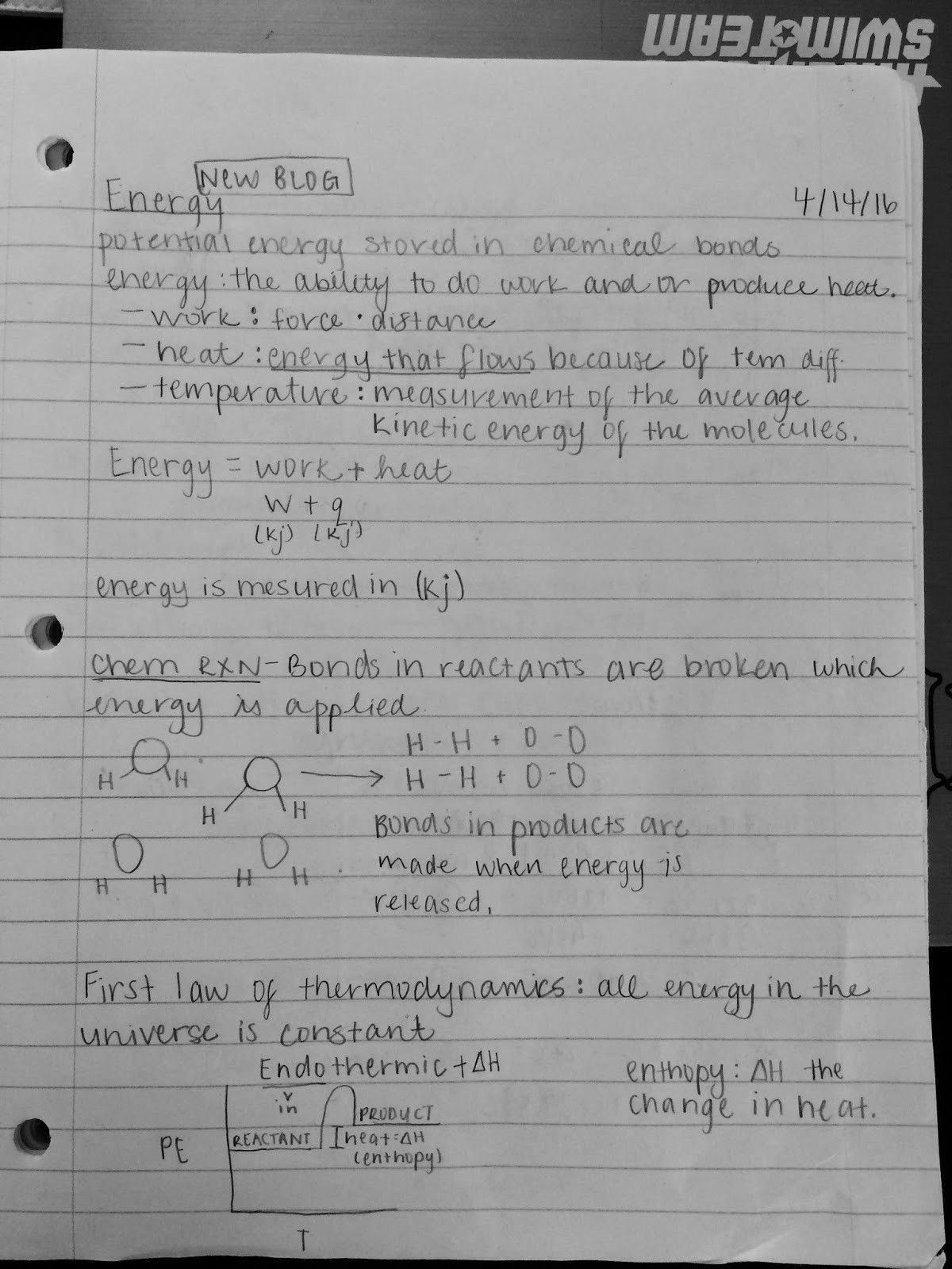 Kinetic And Potential Energy Worksheet Answer