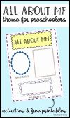 All About Me Worksheet Preschool Inspirational Free Printable Activities for Preschoolers New Od Cvc Word Family