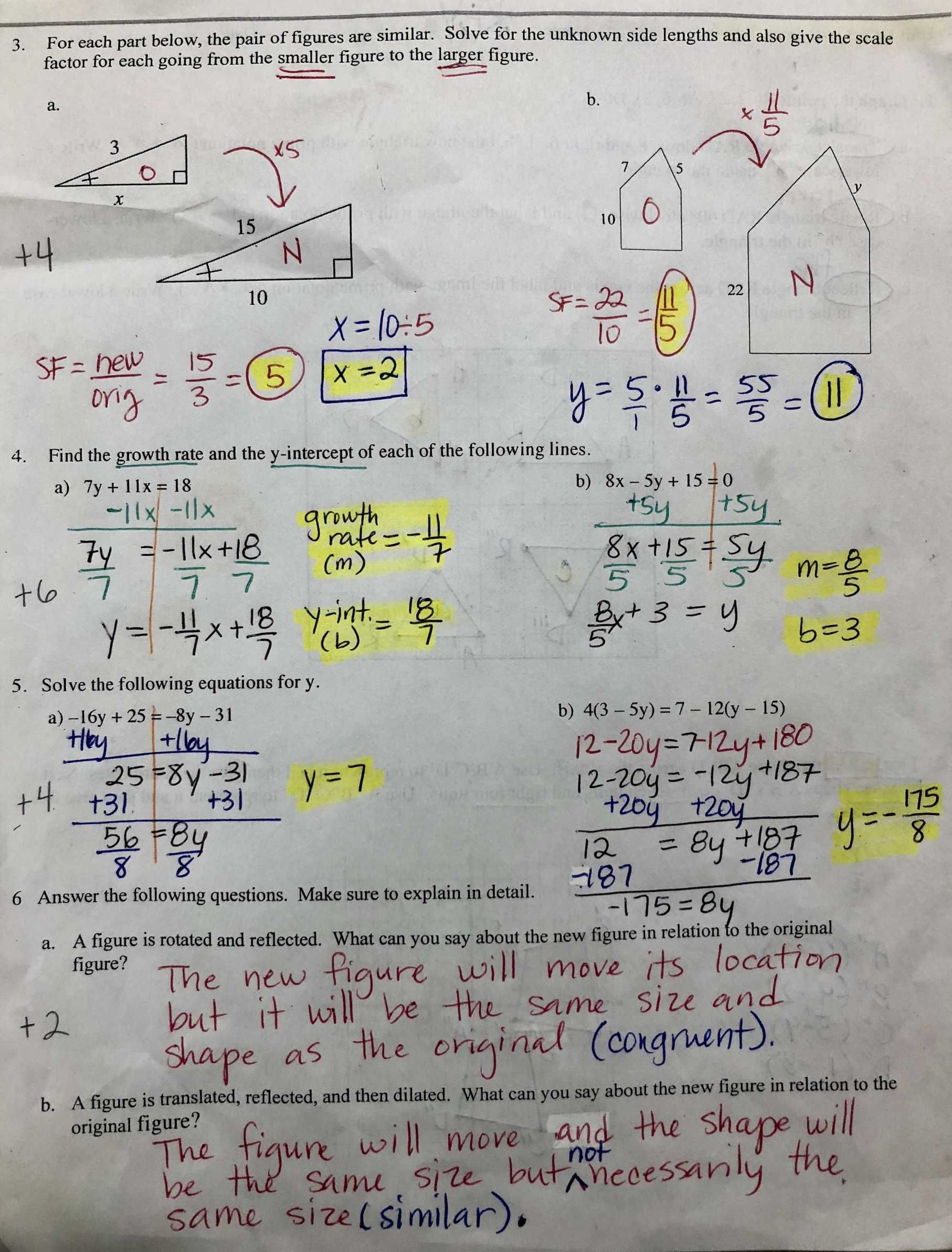 Proportion Word Problems Worksheet 7th Grade