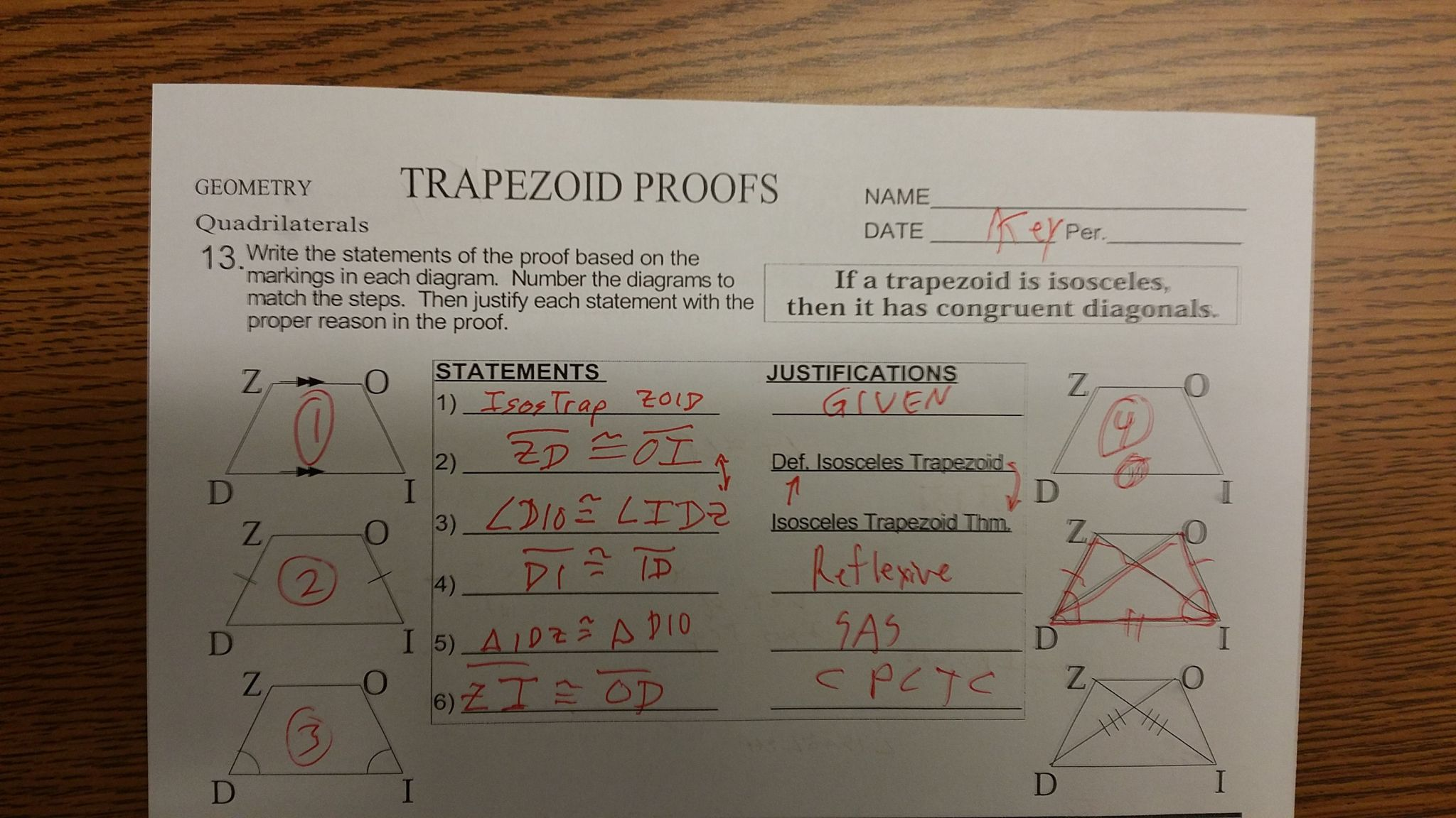 Trigonometric Ratios Worksheet With Answers