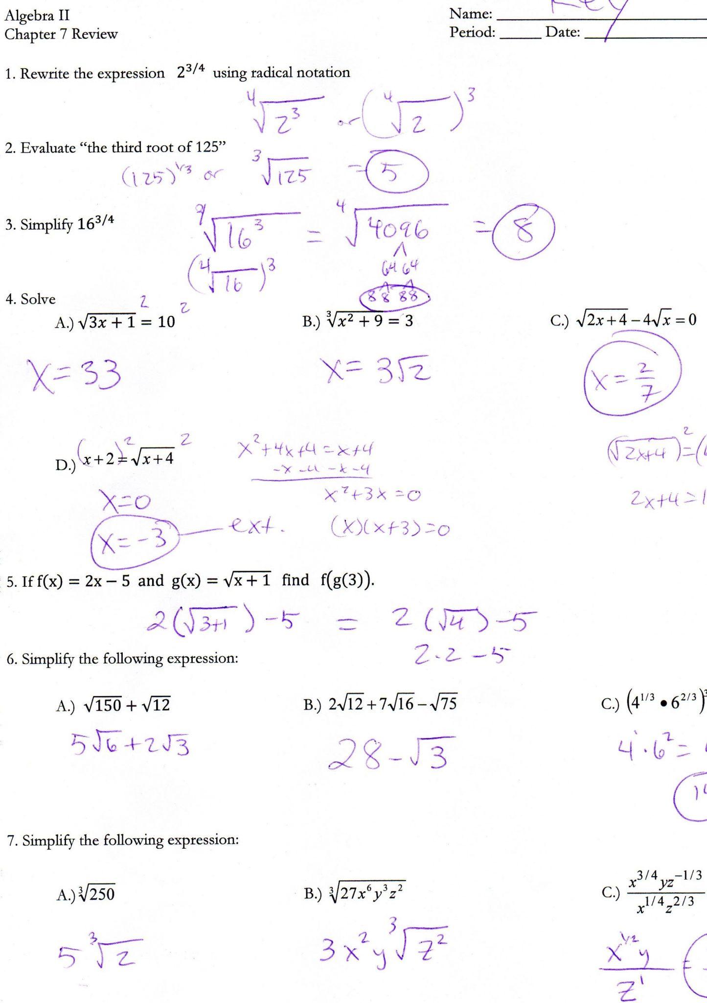 Worksheet Graphing Quadratics In Standard Form