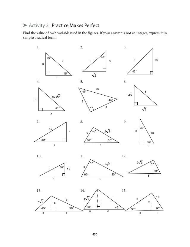 Trigonometry Worksheets Kuta Printable Worksheets And Activities For Teachers Parents Tutors And Homeschool Families