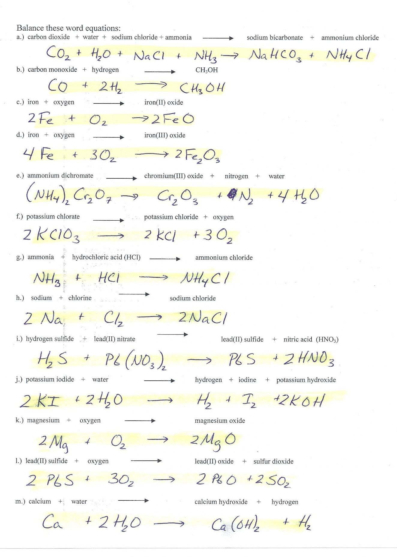 Russian Math Worksheets