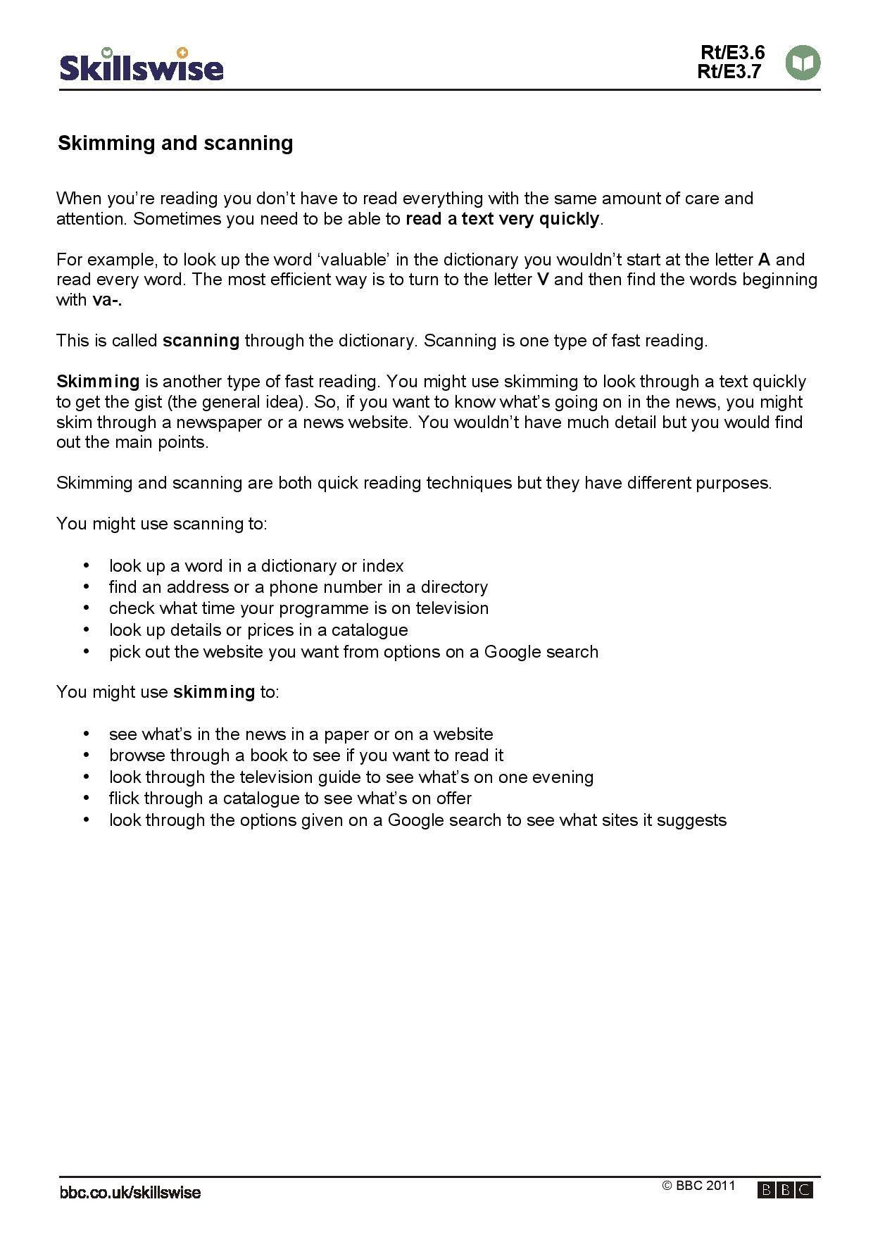 Second Grade Reading Comprehension Worksheets