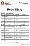 Printable Food Diary calorie keeper Healthy Diet Recipes Healthy Food Healthy Eating