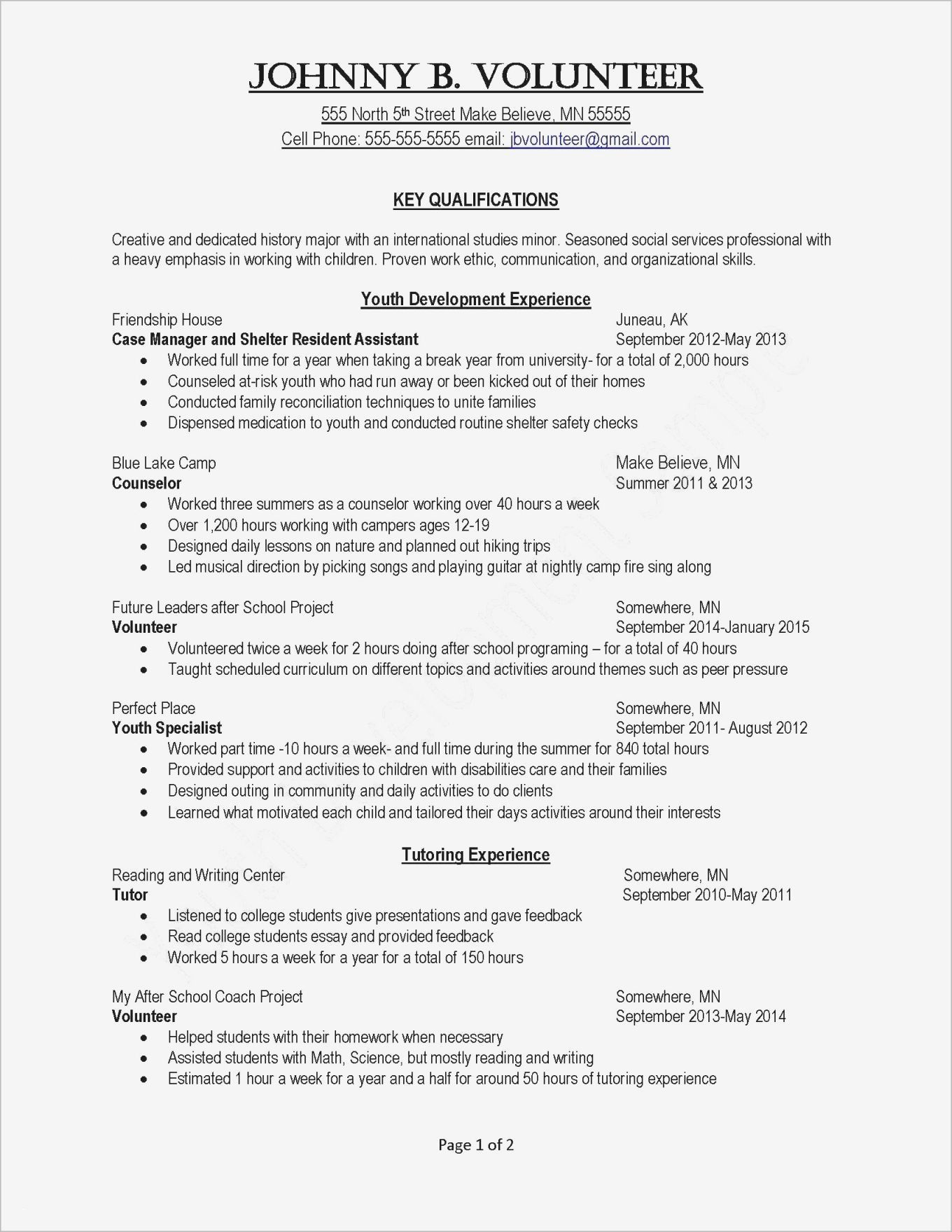 Soft Skills Worksheets