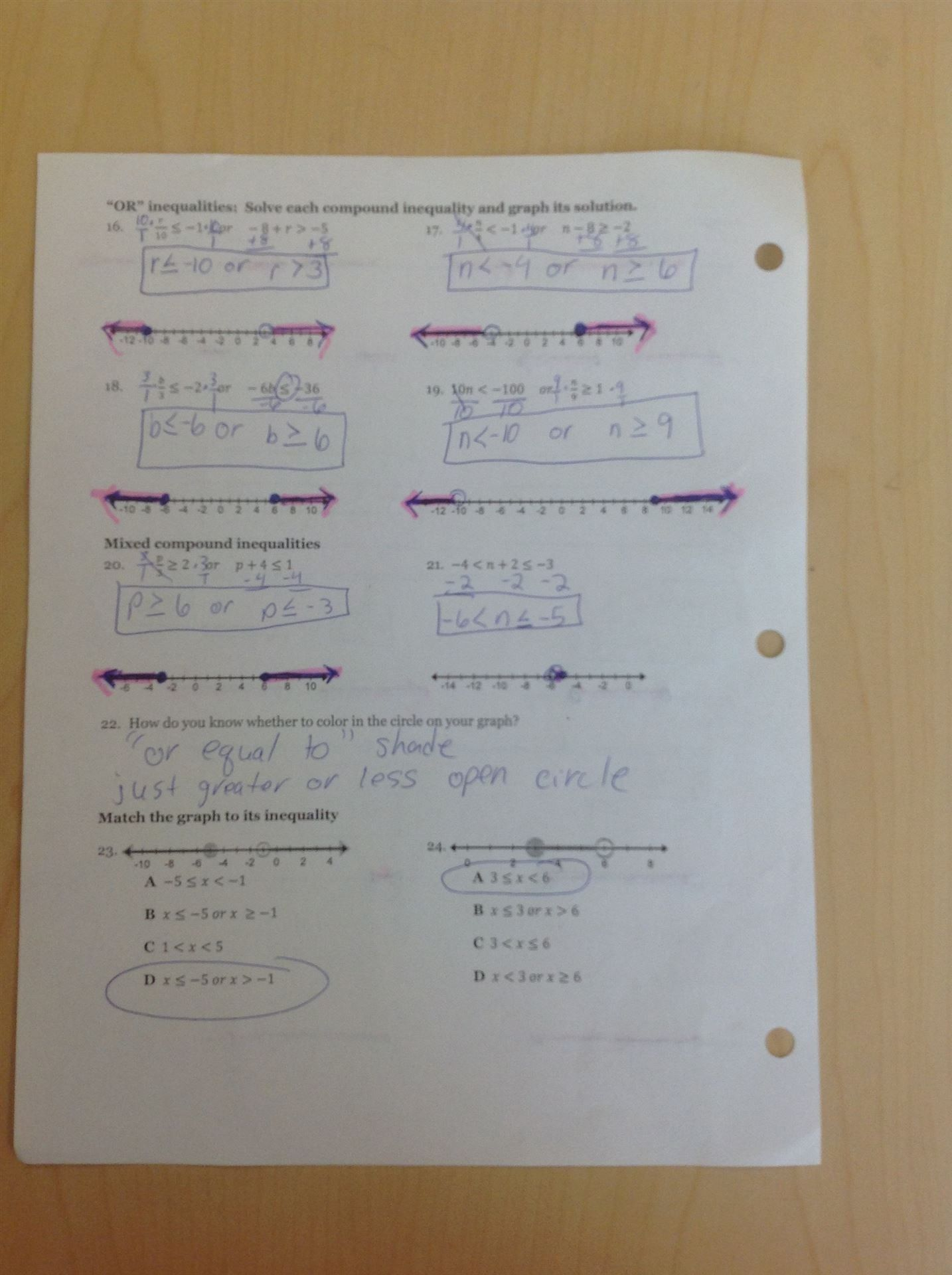 Solve Each System By Graphing Worksheet