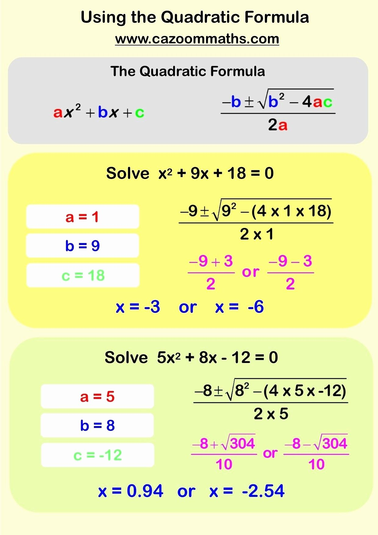 Solving Problems Algebraically Worksheet Answers
