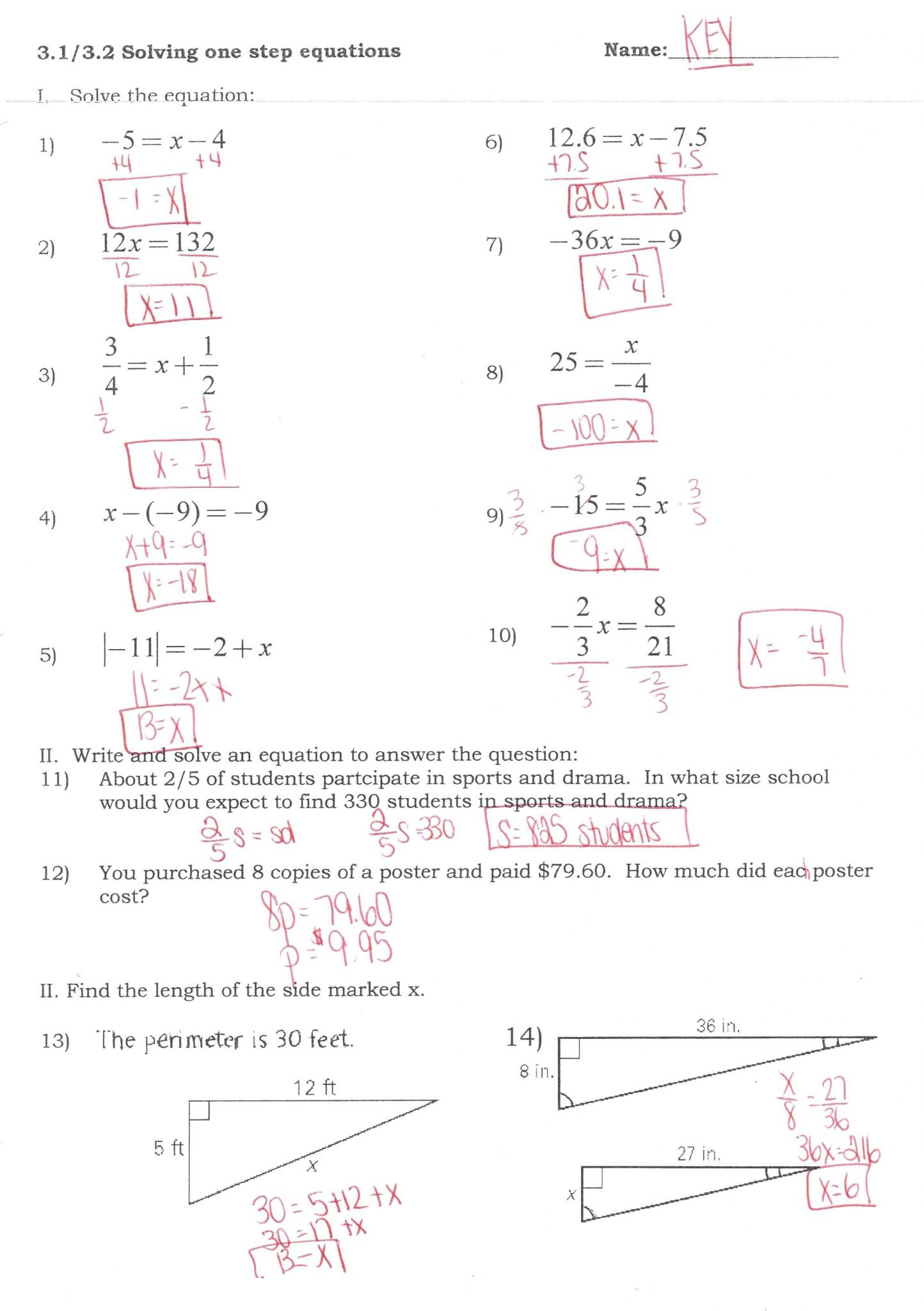 Systems Of Equations Elimination Method Worksheet Answer