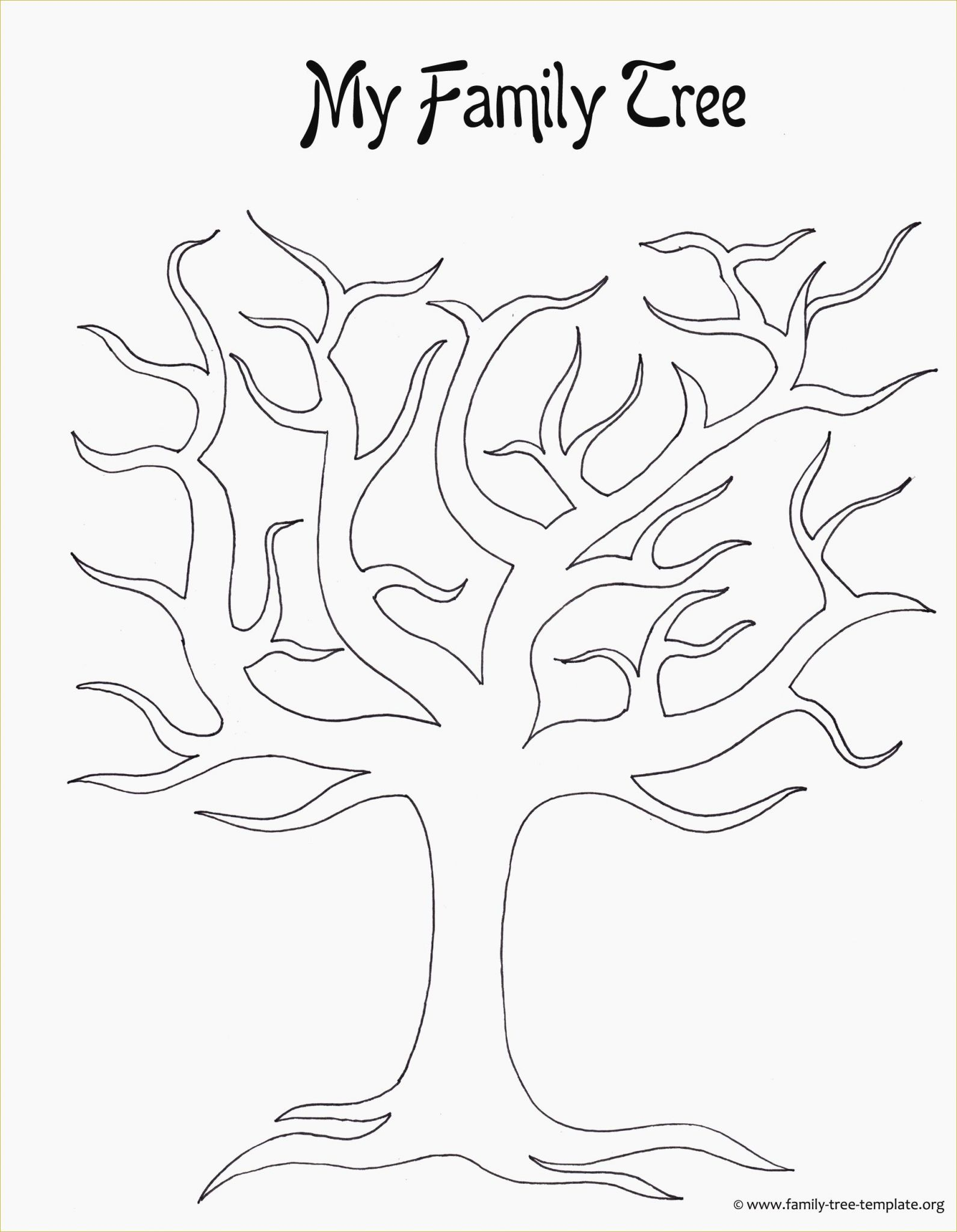 Spanish Family Tree Worksheet