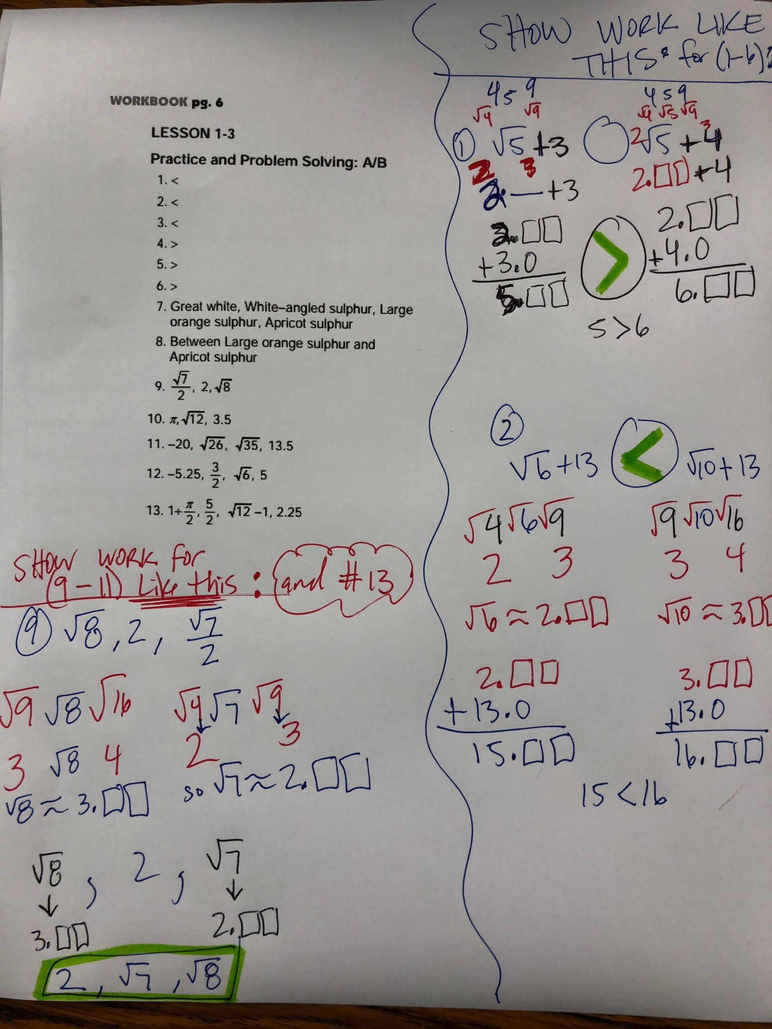 Standard Form Of A Linear Equation Worksheet