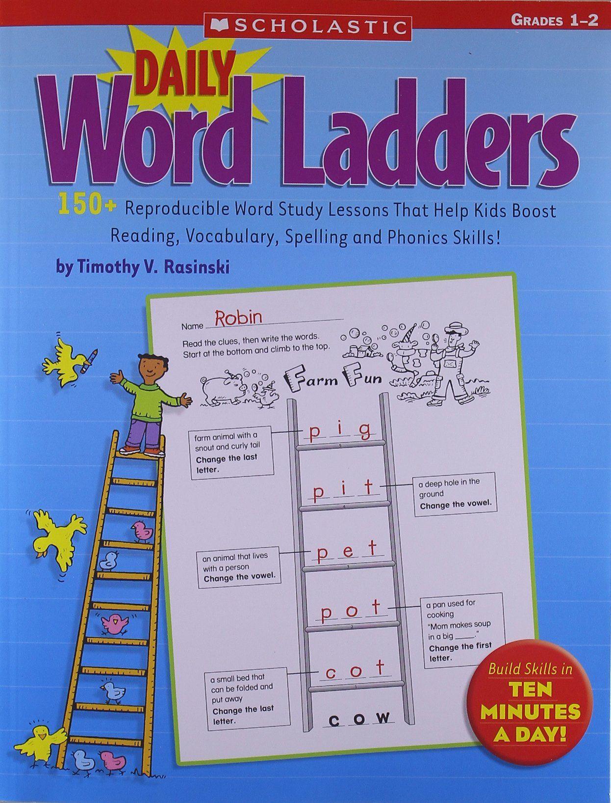 Word Ladder Worksheets For Middle School