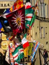 Il Palio flags