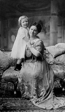 Königin Wilhemina und Tochter Juliana