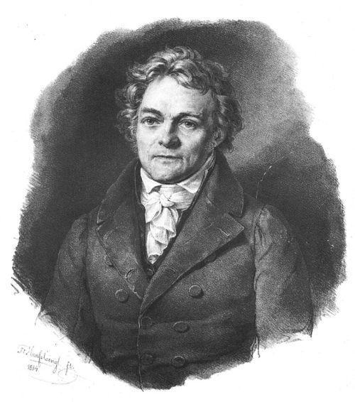 Ein Porträt von Alois Senefelder - Quelle: Wikipedia/Hanfstengel [1]