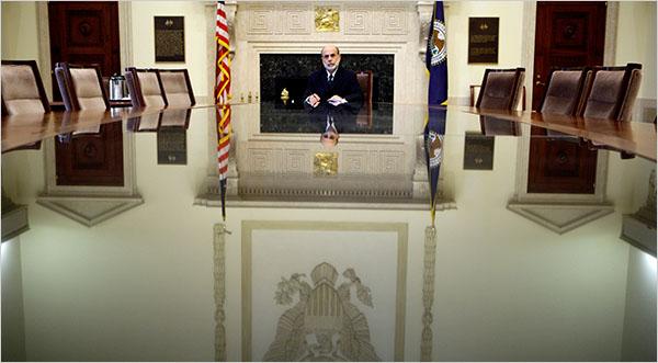 Ben Bernanke on 8/19/09 - Doug Mills/The New York Times