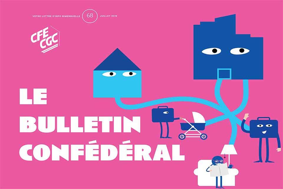 Le bulletin confédéral n°68