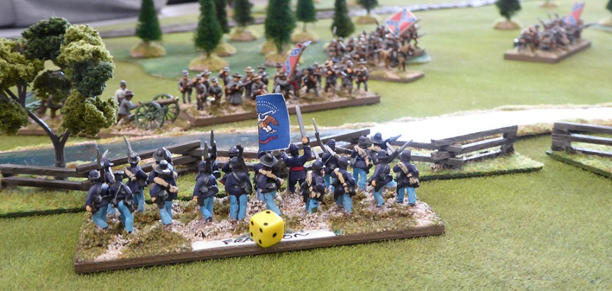 ACW Vicksburg Campaign Turn 1: The Battle of Bloody Creek