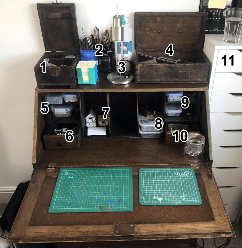 Jeremey's Hobby Desk