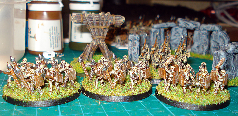 picture of skeleton miniatures