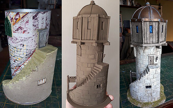 Picture of model wizards tower