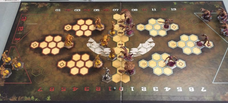 Slam! Dreadball: Kalimarin Ancients Versus Z'zor