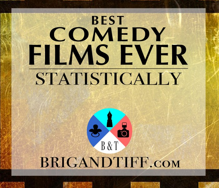 The 10 Best Comedy Films of All Time: Statistically