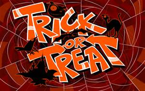 """Chief of Police Timothy J. Reed announces that """"Trick or Treat"""" on Halloween Night, will be on Saturday October 31st, between the hours of 5:30 P.M. and 7:30 P.M. and requests that parents so advise their children."""