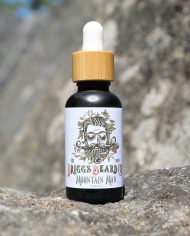 Mountain Man Beard Oil Product shot variation
