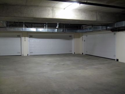Individual garages underground available