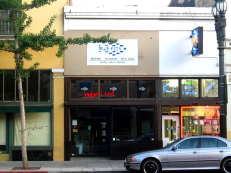 Tani Sushi is now Blue Fish Pasadena