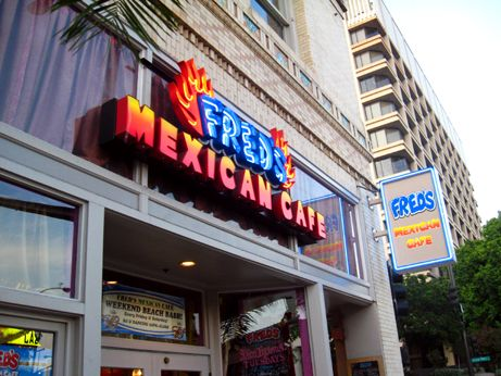 Freds Mexican Cafe was purchased and will be changing concepts soon