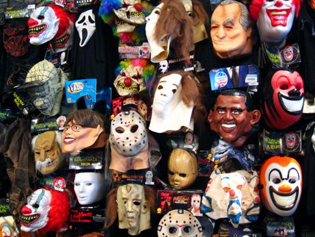 scary masks sold at spirit halloween on south lake avenue