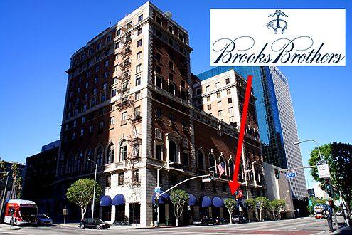 outlet online 50% off usa cheap sale Brooks Brothers Coming to the Jonathan Club in Downtown LA ...