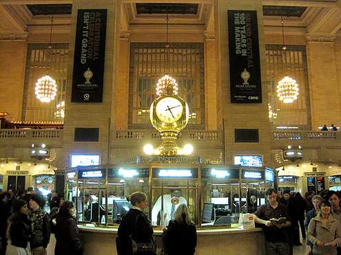 The beautiful opal-faced, brass clock that sits in the middle of Grand Central Terminal is now the station's official logo and brand in a smart marketing move to give the station a stronger identity