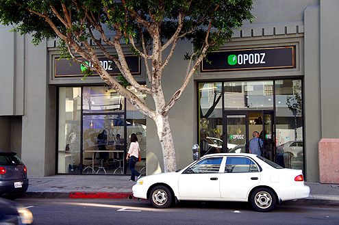 Opodz is located near 2nd and Central Ave in the heart of Little Tokyo