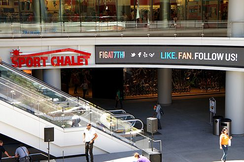 Sport Chalet is now open on the lower level next to Gold's Gym and underneath City Target