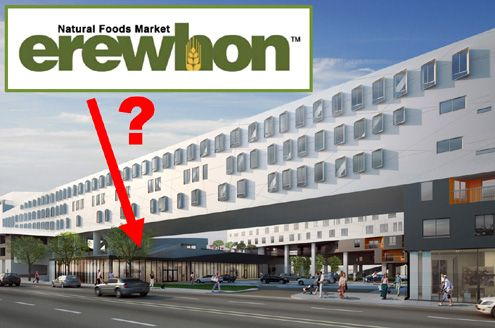 Rumors have it that organic market Erewhon will be opening at the One Santa Fe project in the Arts District (Photo: Michael Maltzan Architects)