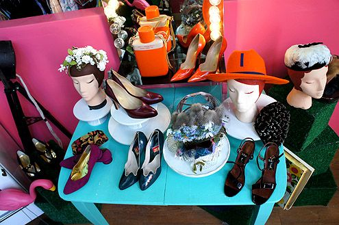 Shoes and hats