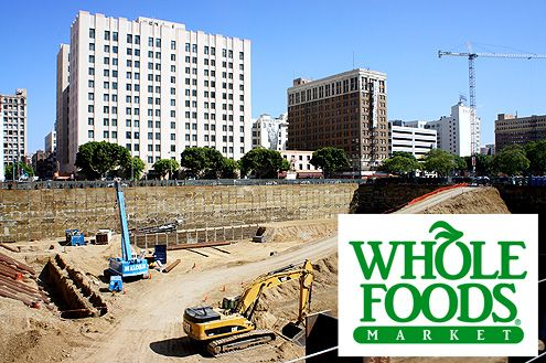 A 42,000 square foot Whole Foods market is slated to open in the new 700-unit Carmel Partners mixed-use apartments in 2015