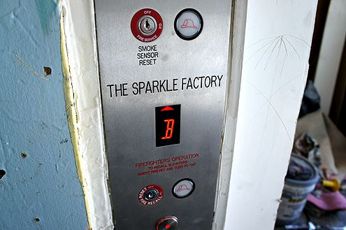 Construction on the Sparkle Factory interior creative office space has begun as well