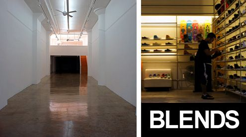 Blends, the hyper-trendy sneaker and apparel boutique, is relocating to the Fashion District