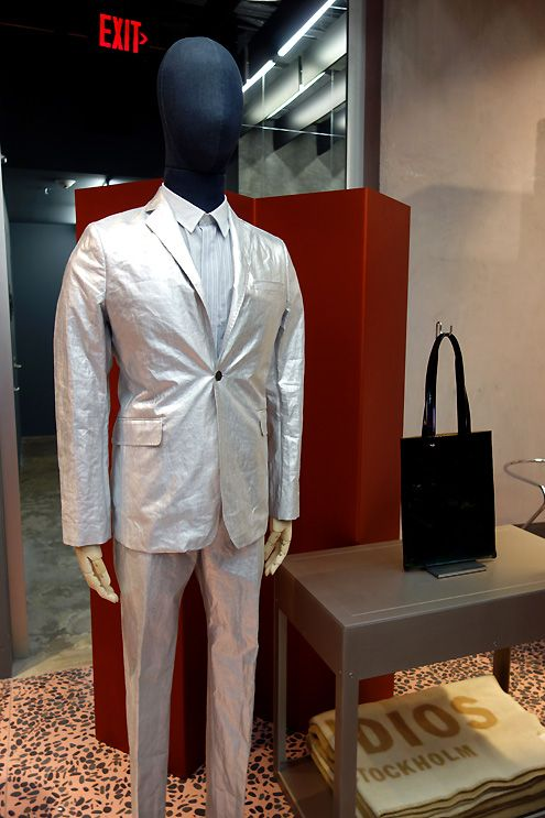 Acne Studios mannequin suiting for men